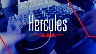 Hercules DJ Console 4-Mx - How to scratch