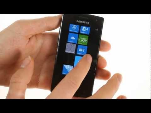 Samsung Omnia W I8350 unboxing
