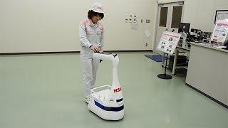 病院内を案内するロボット「ライボット」 thumbnail