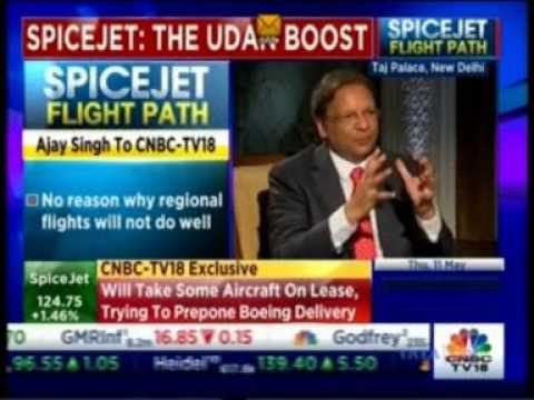 SpiceJet CMD Ajay Singh talks about the airline's plans for long-haul flights to Europe