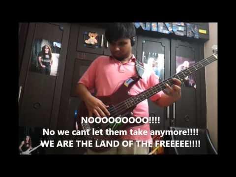 The Clansman Bass Cover + Lyrics