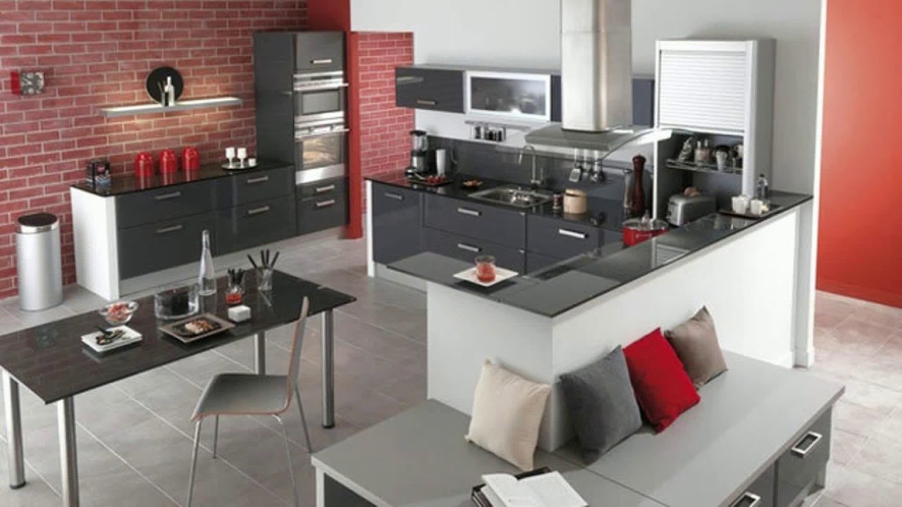 meubles de cuisine d occasion pas cher youtube. Black Bedroom Furniture Sets. Home Design Ideas