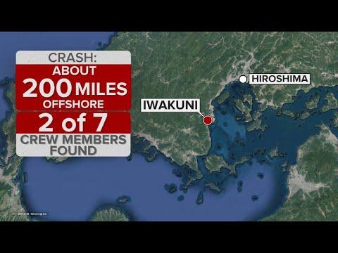 5 Marines missing after midair collision off Japan coast