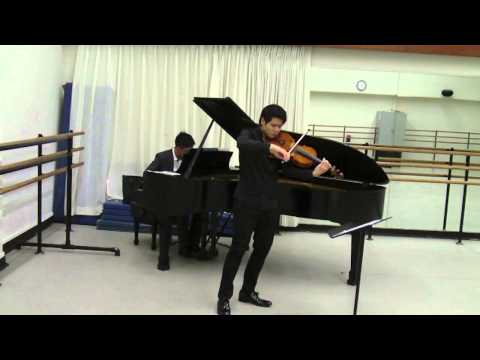 Bax: Viola Sonata (Excerpt from mvt.3)