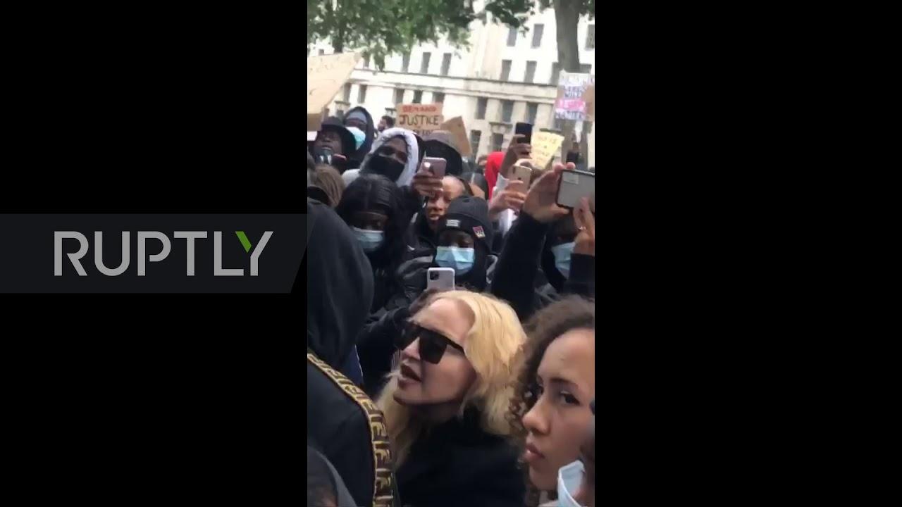 UK: Madonna crashes Black Lives Matter protest in London