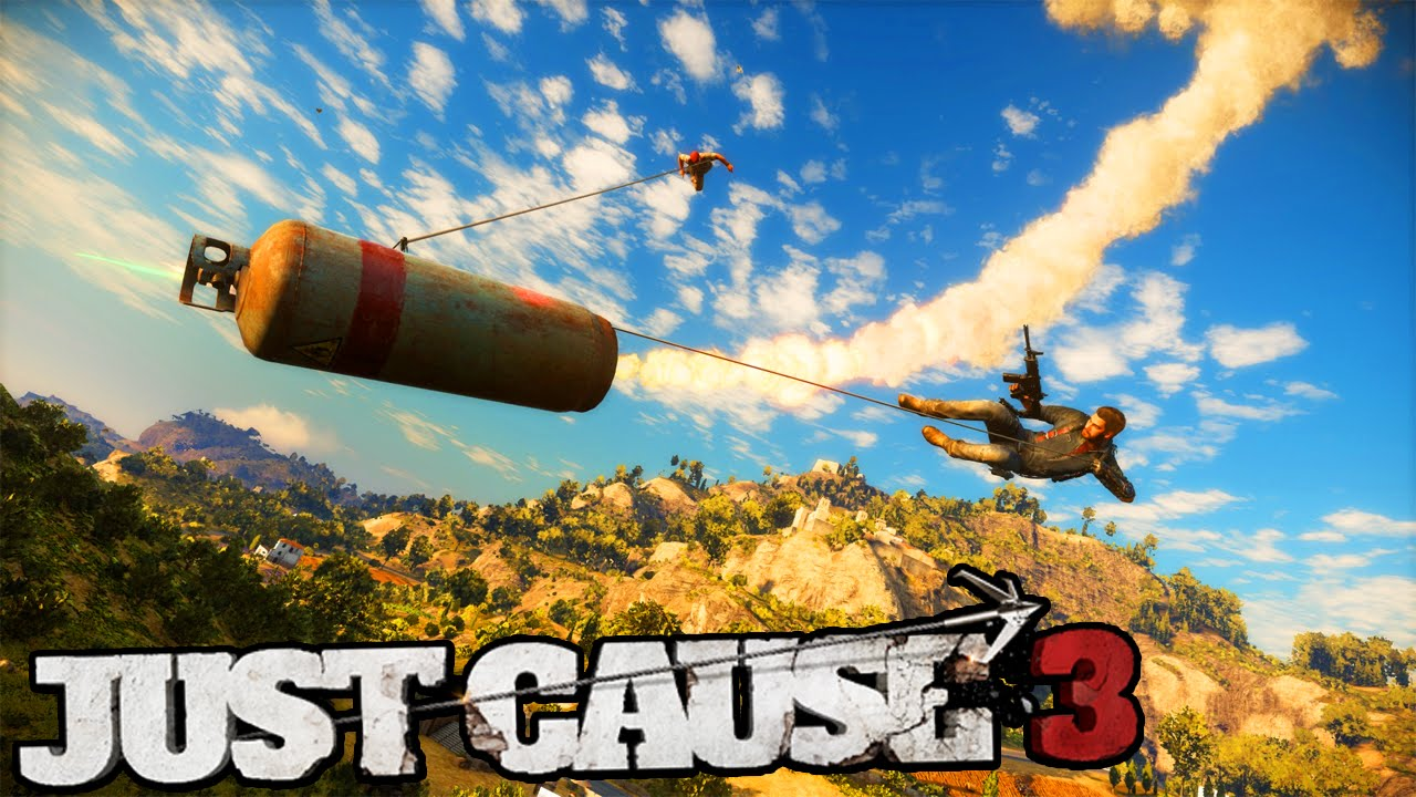JUST CAUSE 3 - GRAPPLE MODS & FUNNY MOMENTS! (Just Cause 3 Gameplay  Walkthrough #1)