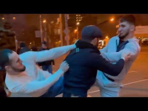 Драка Тамаев vs Эмиль Наврузов 1 на 1 Полное видео конфликта