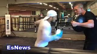 Fazliddin Gaibnazarov Gold Medal Winner From Uzbekistan Mexican Style! Mp4EsNews Boxing
