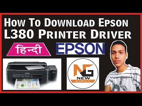Hindi/Urdu] How To Download Epson L380 Printer Driver