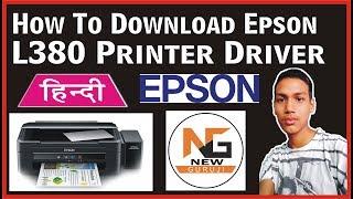 epson printer l380 driver
