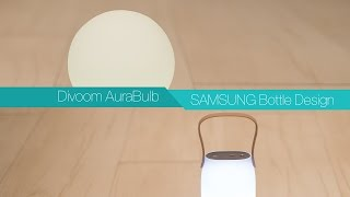 divoom AuraBulb vs Samsung Bottle Design (EO-SG710)  Bluetooth Speaker Review