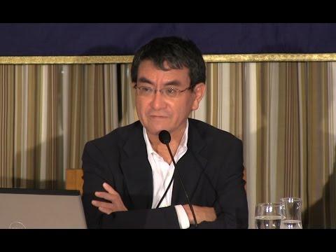 Taro Kono: An LDP skeptic voices his views, especially on economic measures