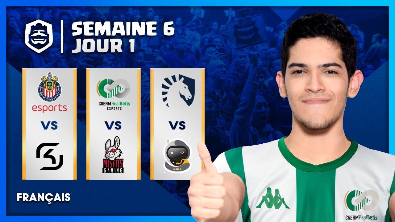 Clash Royale League : CRL West 2020 Fall | Semaine 6 Jour 1 ! (Français)