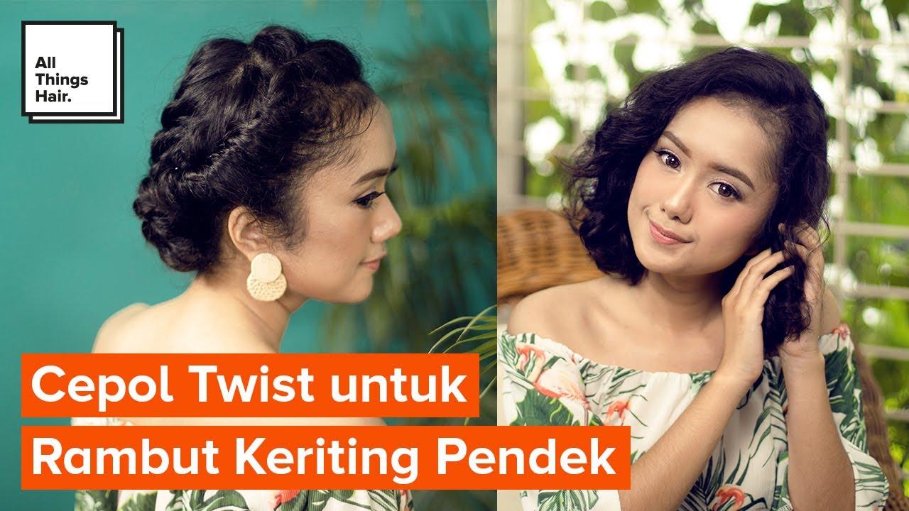 30 Hairstyles Mudah Untuk Rambut Keriting Pendek Gaya Rambut Wanita 2021