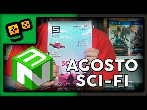 Nerd Ao Cubo - Agosto - Sci-Fi