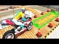 Bike Racing Games - City Bike Stunt Parking Adventure - Gameplay Android free games