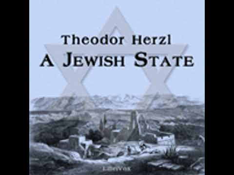 A JEWISH STATE by Theodor Herzl FULL AUDIOBOOK | Best Audiobooks
