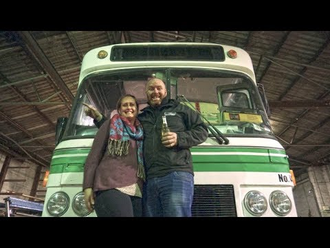 Couple Converting Bus Into Home In Melbourne