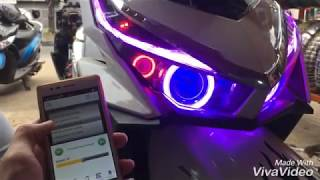 Vario 150 with projector wifi DRL