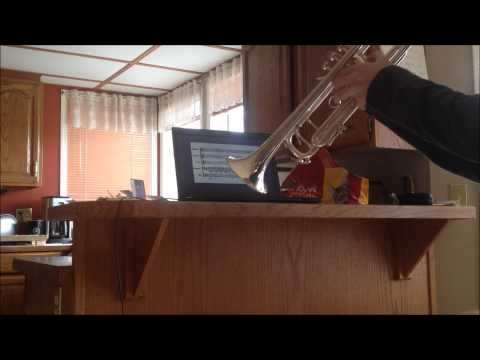 The Legend of Zelda Theme Song on Trumpet