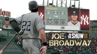 """Not Happy In New York?"" MLB 18 RTTS Joe Broadway Road To The Show vs Red Sox MLB The Show 18 RTTS"