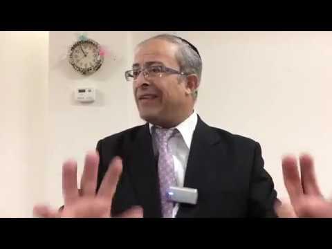 Rabbi Yinon Kalazan - The War of Amalek Most ingenious must watch!!!