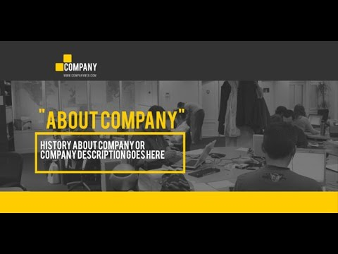 After Effects Template: Company Promo TV Spot