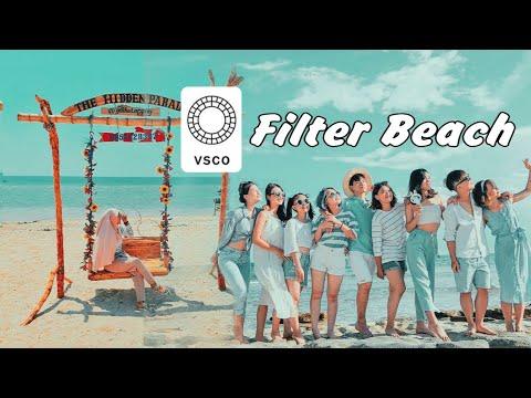 Tutorial Edit foto Filter Beach di VSCO#feedsinstagram