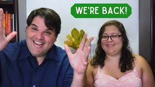 Krocks in the Kitchen Inspired Us to Come Back to YouTube! - Plant Based, Vegan Diet Weight Loss