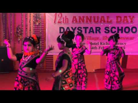 Sambalpuri dance by Daystar school kids-12th Annual Day