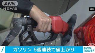 ガソリン5週連続↑ 原油価格変動で来週は横ばい(20/06/17)