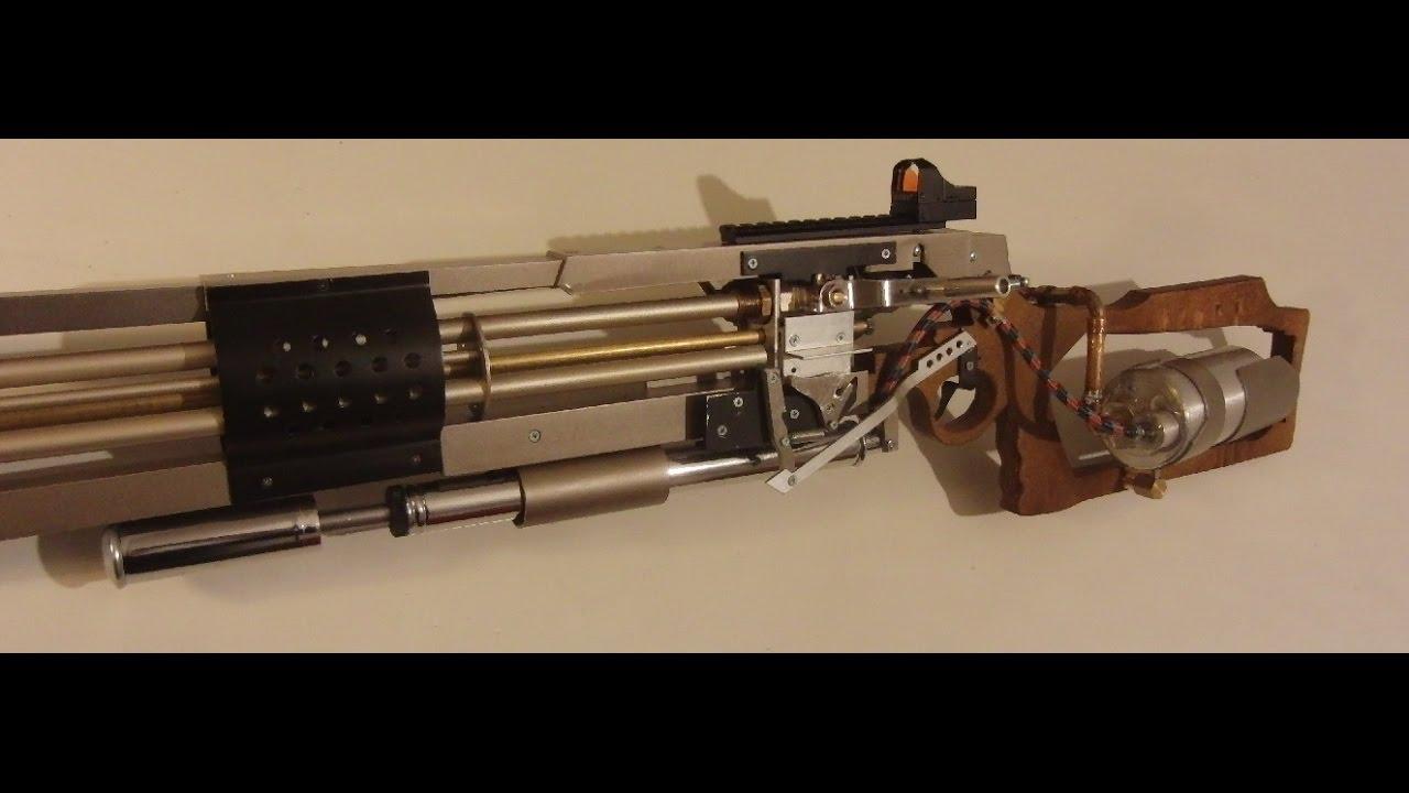 best selfmade airgun  metro 2033 style  multi barrel