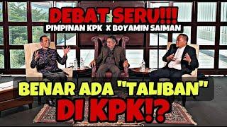 """Download DEBAT SERU!!! PIMPINAN KPK X BOYAMIN SAIMAN // BENAR ADA """"TALIBAN"""" DI KPK!? - KARNI ILYAS CLUB"""