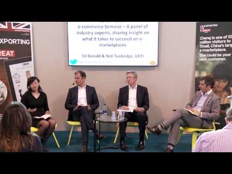 UKTI - e-commerce Seminar - Insight on what it takes to succeed on e-marketplaces