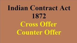 04 Cross Offer vs Counter Offer