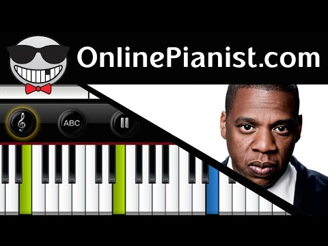 How to play Young Forever  JayZ ft Mr Hudson  Piano Tutorial