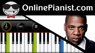 How to play Young Forever by Jay-Z ft. Mr Hudson - Piano Tutorial