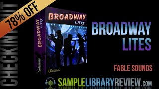 Checking Out Broadway Lites by Fable Sounds