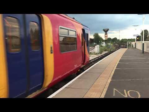 Trains at Wimbledon