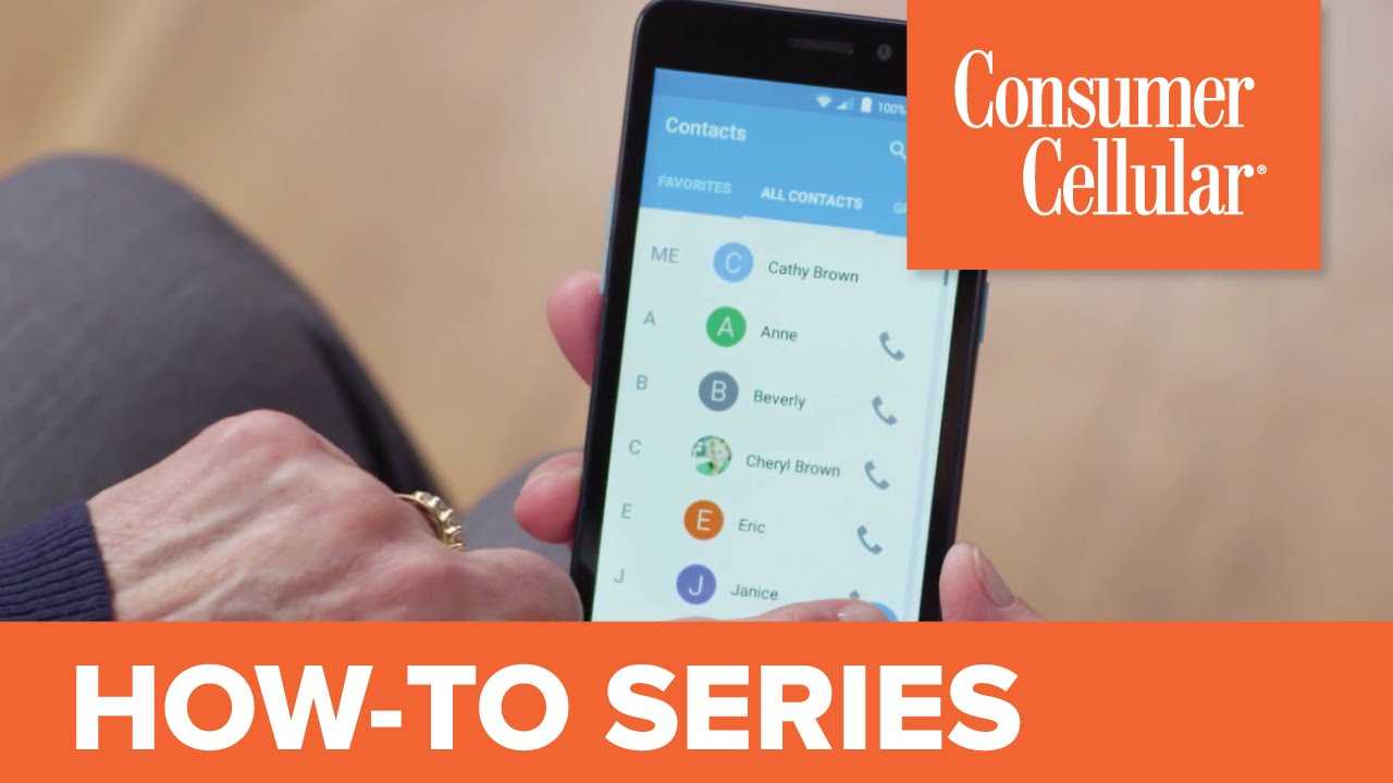 ZTE Avid 828: Using Contacts (8 of 11) | Consumer Cellular