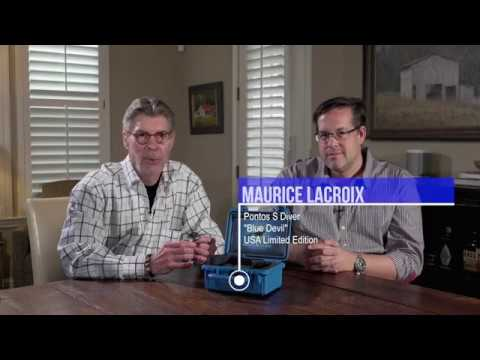 Whats in the box? Maurice Lacroix Pontos S Blue Devil Limited Edition