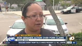Mom takes action following middle school porn scandal