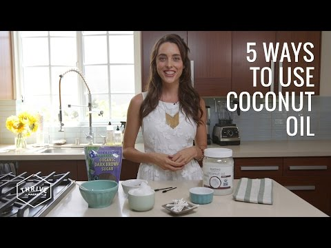 COCONUT OIL Beauty Hacks + Home DIYs | Thrive Market
