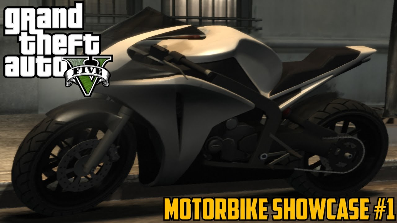 GTA V: Dinka Double-T (Honda) | Motorbike Showcase #1 ...