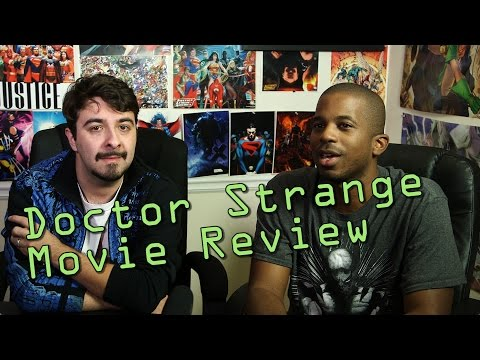 Doctor Strange Review SPOILERS! With Guest Zachary Vaudo