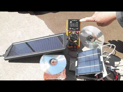 DIY solar usb power pack with different solar panels pt 6