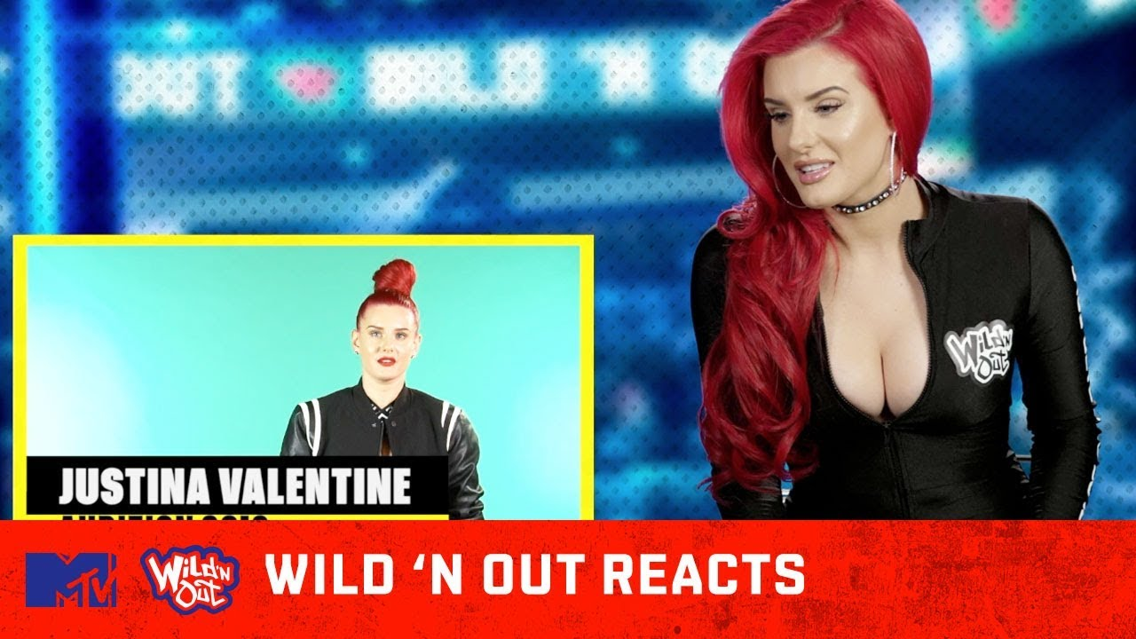 Justina Valentine Reacts to Her Audition Tape 👏  | Wild 'N Out Reacts | MTV