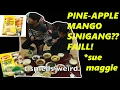 [Cooking #26] MANGO&pineapple SINIGANG??? holy..... SHIT!@%(*