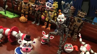 Ennard And Funtime Foxy Funko Action Figure Review!