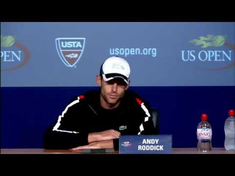 2011 US Open Press Conference: Andy Roddick (Fourth Round)
